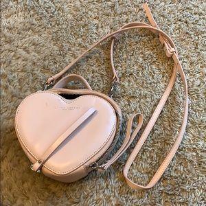 Marc Jacobs pink heart crossbody